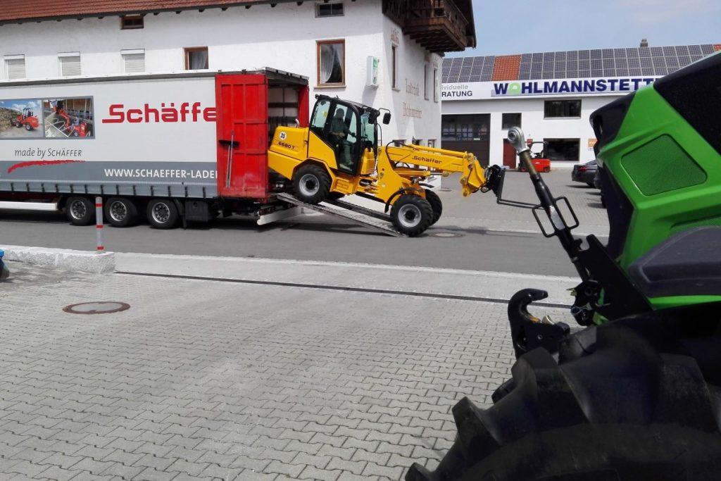 Vertrieb und Service für Schäffer Lader übernommen
