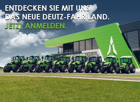 Werkbesichtigung Traktorenwerk Deutz-Fahr Land in Lauingen