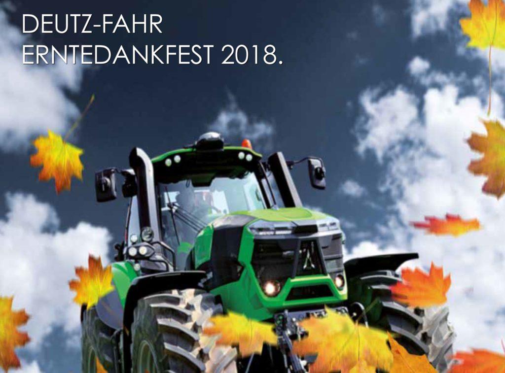 Deutz-Fahr Erntedankfest 2018