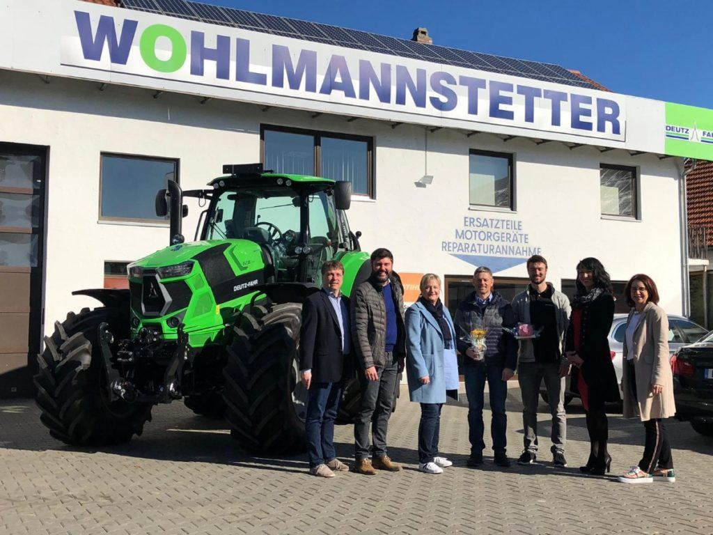 """Wohlmannstetter Landtechnik jetzt Mitglied bei """"WIR"""""""