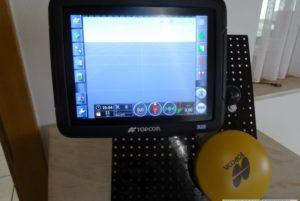 Topcon Spurführungssystem X23 mit SGR-1