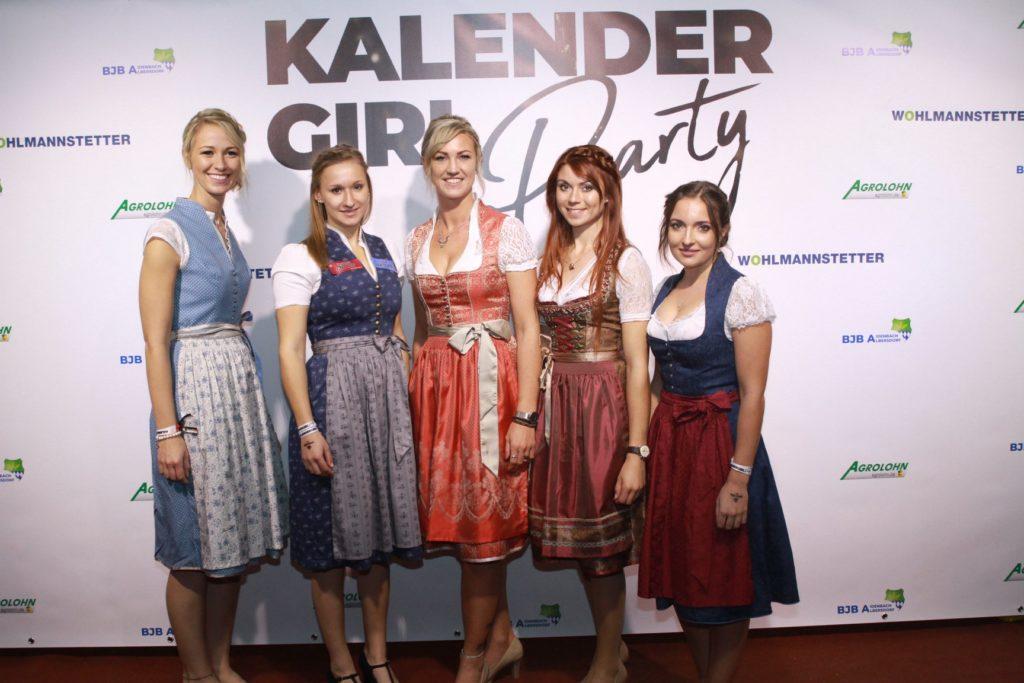 Kalendergirl Party 2019 in Vilshofen, wir war'n dabei.