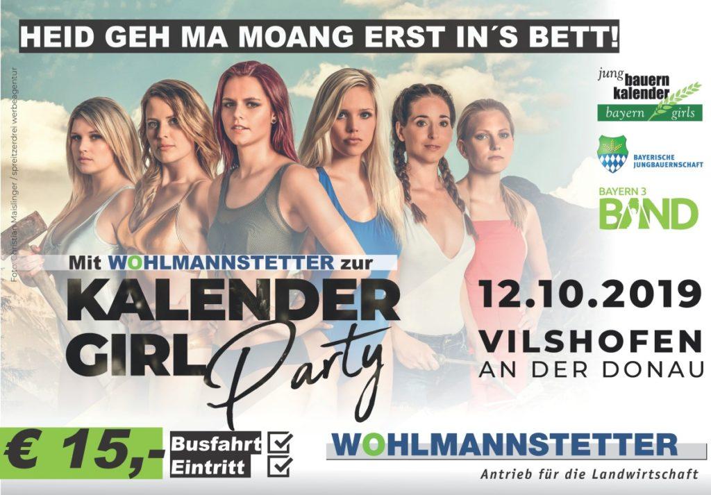 Mit uns zur Kalendergirlparty in Vilshofen