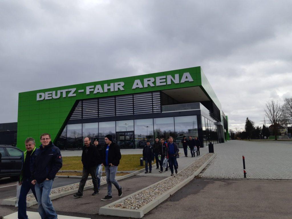 Werksbesichtigung Deutz-Fahr Land in Lauingen