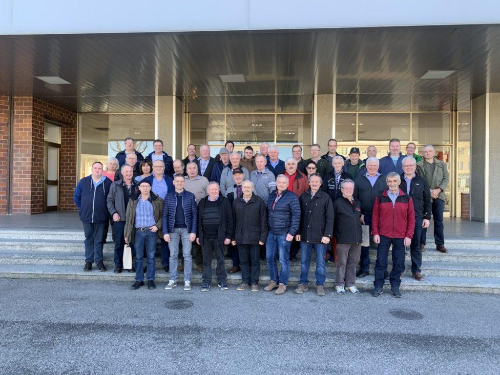 Besichtigung des SDF Werkes in Treviglio im Februar 2020